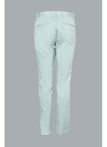 Lufian Slim Fit Gabi Smart Chino Pantolon Yeşil
